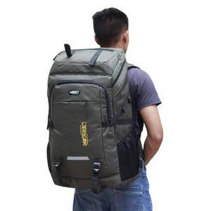 Сумки на открытом воздухе 80L кемпинг тактический рюкзак водонепроницаемый туризм путешествия Треккинг альпинизм скалолазание рюкзак для женщин мужчин