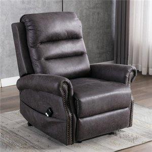 Silla reclinable Ascensor EEUU Stock Energía Eléctrica para ancianos Classic de una silla reclinable Sofá con Nailhead Recorte W50123868