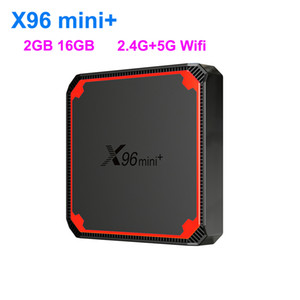 X96 Mini + Android TV Box X96Mini Plus Android 9.0 Smart TV Box 2GB 16 Go Amlogic S905W4 Quad Core 5GHz Dual WiFi