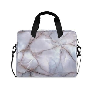 ALAZA Laptop Bag 13.3 15.6 16 Inch Marble Waterproof Notebook Bag Sleeve For Macbook Air Pro Computer Shoulder Handbag Briefcase