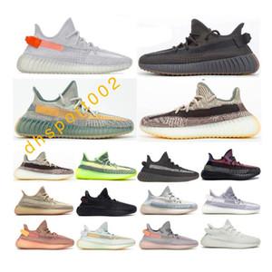 yeezy 350 boost De boa qualidade Homens Kanye West Sport Sneakers Cinder Linda Lsrafil Oreo Sesame V2 Run Sapatos Zebra Estática Creme Branco Criado Breat Tint Manteiga S