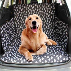 Asiento del perro casero tronco buque de carga Oxford Alquiler mascota la cubierta de asiento de coche protector para Perros Gatos impermeable antideslizante perro cubierta fQ1C #
