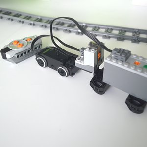 Train motor Technic parts Compatible All Brands multi power functions tool servo blocks train engine xl motor PF sets Toys 1008