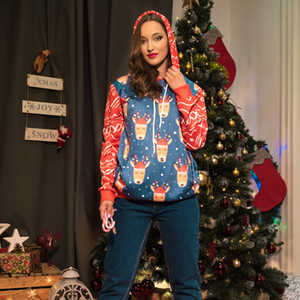 Christmas Hoodies Mens Stylist Hoodies Street Hip Hop High Quality Loose Fit Womens Hoodie Mens Christmas Decoraction Stylist Sweaters M-XL