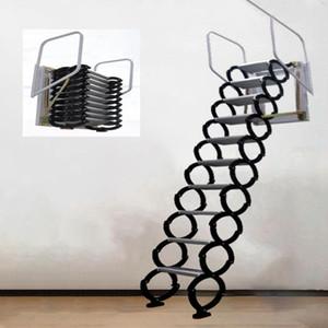 المهنية أداة اليد مجموعات 3.1-3.5 متر في الهواء الطلق شنقا قابل للسحب درج دليل الجدار شنت للطي سلم المحمولة الدرج المنزلية مجموعة