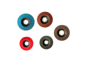 RICHOICE Aluminium Oxide Flap Disc for wood polishing