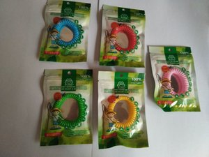 1000PCS Mix colors Anti- Mosquito Repellent Bracelet Anti Mosquito Bug Pest Repel Wrist Band Bracelet Insect Repellent Mozzie Keep Bugs