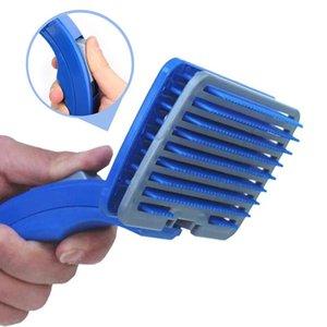 Idepet chien Supprimer Brosse à cheveux peigne propre Délestage chien Tondeuse Brosse Attachment Cat Clean Toilettage offre fourrure Confort wmtTuR