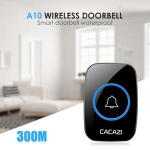 Home Security Smart Doorbells Mini Waterproof Intercom Door Bells 300m Remote Acceptance 38 Tunes Songs Jingle Bell1