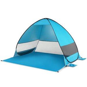 Oudoor antivento automatico sulla tenda impermeabile Ultralight tenda da campeggio Canopy Sun Shelter Per Beach Camping Pesca Trekking