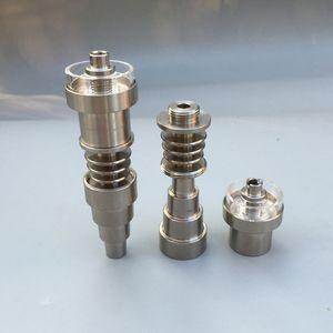 Универсальный 6 в 1 Titanium ногтей 10 / 14мм / 18мм мужской / женский Domeless Titanium Nail E сигареты Dab нефтяных вышек Инструмент