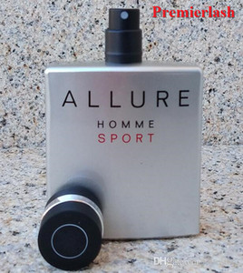 Premierlash Marka Sıcak Satış Parfüm Erkekler Için Allure 100 ML Parfum Sprey Tütsü Parfümler Erkekler En Kaliteli Köln Hızlı Gemi