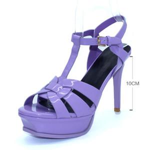 TUYOKI Tacones altos Sandalias Mujeres Genuine Cuero Plataforma Zapatos Mujer Sexy Fashion Footwear Damas Venta Caliente 33-40 C0202