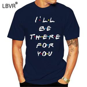 Freunde Tv Show Ich werde für dich da Brief Printing Lunoakvo Freunde Short Sleeve Mans Top Sport Hoodys Hoodie-T-Shirt Seien Sie