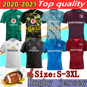 Melhor Qualidade 20 21 Irlanda Rugby Jerseys Irlandês Irfu Nrl Munster City Rugby League Leinster Alternar Jersey 2020 2021 Ulster Irishman Camiseta