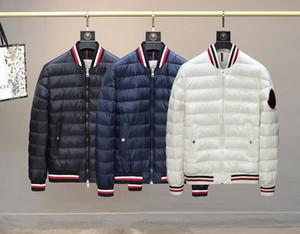 20fw neue Art und Weise Mens Designer Daunenjacke Bomber doudoune Windjacke Mantel Robertos Winter-MENKOU Jacke Top-Qualität