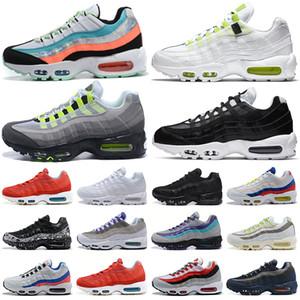 nike air max 95 airmax 95s أحذية الجري الرجالية Chaussures Worldwide Yin Yang OG Neon Tennis أحذية رياضية رياضية في الهواء الطلق للرجال