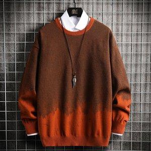 Герфстные стройные рубашки использовали Trui повседневные топы шерстяные вязать перемычки мужчин Seers Hombre