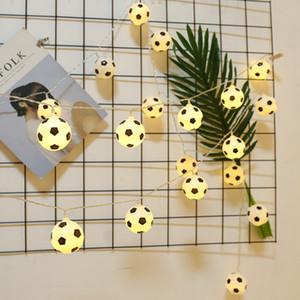 Coppa Vendite dirette della fabbrica ha condotto il mondo a tema calcio String Bar KTV Atmosfera luci decorative creativi di modellazione luci della batteria