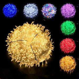 LED luci di Natale stringa completa di stella 220V filo di rame natale decorazioni stelle vacanza luci lanterna esterna illuminazione GWB2073