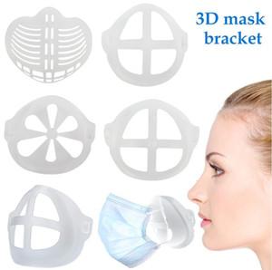 3D Mask Bracket Durable Masks Stents PE Mask Holder Support Breathing Assist Mask Inner Cushion Bracket Mouth Masks Breathable Valve Frame