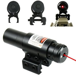 Red Laser Sight avec 20 mm / 11 mm Rail Mount Hunting Airsoftsport Gun Sight fente Laser Huntting Outils Optique tactique