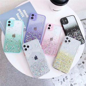 Para Iphone 12 New Bling Bling brilhante híbrido TPU PC Glitter Telefone Capa Para Iphone 12 Pro Max 11 Pro X XR XS MAX 7 8 mais SE 2