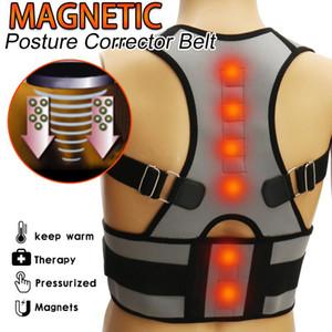 SGODDE Magnetic Therapy Student Adjustable Back Corset Shoulder Lumbar Posture Corrector Bandage Spine Support Belt Back Support