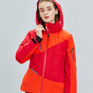 Women's Fashionable Windproof Waterproof Outdoor Ski Jacket Cotton Sports New