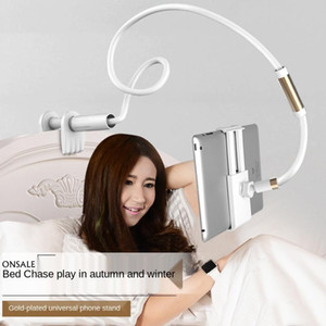 Masaüstü Telefon Tablet Standları 130 cm Tablet Tutucu Ayarlanabilir Dağı 4.0 ila 10.6 inç Yatak PC Standı Metal Destek