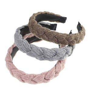 Twist Design Headbands For Women Knitted Braid Winter Women's Bezel Retro Style Hair Bands Girls Hair Accessories