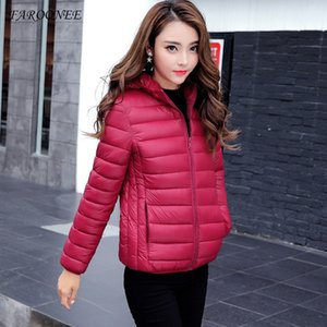 Faroonee Damen Jacken Plus Size Aufmaß Winter Herbst Warm Puffer Mantel Dame Down Jacket Parka