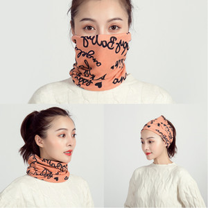DHL Shipping Winter Warm Neck Gaiter Bandana for Women Fashion Leopard Print Scarf UV Protection Mask Balaclava for Outdoor Cycling EWA1898