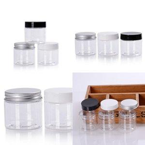 Örnek Çuval Subpackage Şişe Yüz Maskesi Kutusu Plastik Şişe Vücut Kozmetik Kavanoz Çok Stil Kapak Şeffaf 50g Yeni Varış 1 1 mg D2