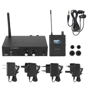 Kit inalámbrico Monitor System 670-680MHZ 863-865mhz Para ANLEON S2 DJ etapa en la oreja del transmisor receptor de micrófono Sistema de 100-240V
