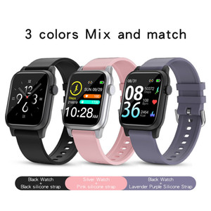 P18 smartwatch color screen bracelet Heart rate blood pressure Oxygen call reminder Diy watch face tracking bracelet