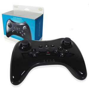 New classic u Pro gamepad Bluetooth wireless remote control dual analog USB game console for Nintendo, Wii for u Pro game