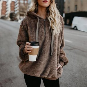 2019 fashion hot style women's designer sweater, European and American style color multi-style hoodie long-sleeved hooded solid color w