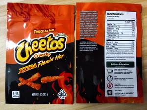 Yeni Crunchy Me Edibles Mylar Ambalaj Torbaları 710 Ekşi Yerler Sakızlı Paket Için Fritos Koruz Peyniri Lezzet Koku Geçirmez Çanta Ziplock Pjghjghj