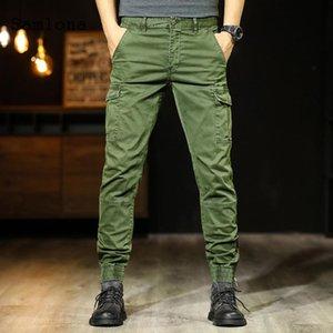 Mode Cargo Pants Japanese Style Taschen Zipper Hose Herren Bekleidung Herbst Joggers Hosen Mens Casual Pantalon Street 2020