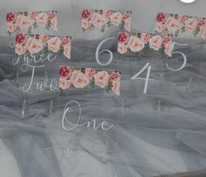 Greeting Cards Faire Part De Mariage Wedding Card Acrylic Table Number Invitaciones Boda