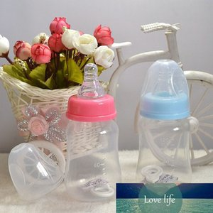 Newborn Baby Milk Bottle Medicine PP 120ml Automatic Anti Colic Air Vent Wide for 0-24 Months