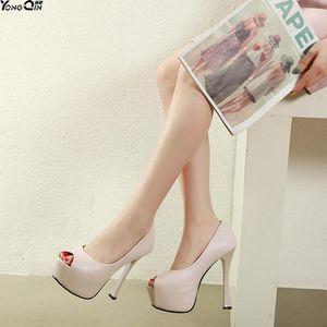 Peep toe Women Pumps Fashion High Heels Shoes Black Women Bridal Wedding Shoes Ladies