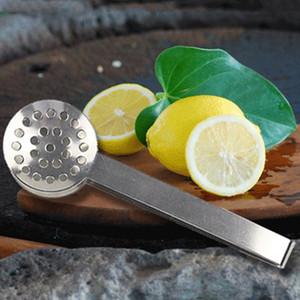 Thé en acier inoxydable sucre clip Clips brucelles Mini Clamp Tong Coffee Ice Cube Petit thé Pinces multifonctions de cuisine Bar Outils VT1870