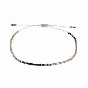 KELITCH Handcrafted Дружба Модные Миюки Seed бисера Браслеты Bijoux для женщин Этнические Струнный манжеты браслеты цепи 6EfV #
