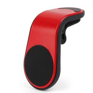 Téléphone de voiture magnétique Porte-grille d'aération Stand Support de téléphone mobile GPS voiture pour iPhone 11 pro pour Samsung Support HHB2345