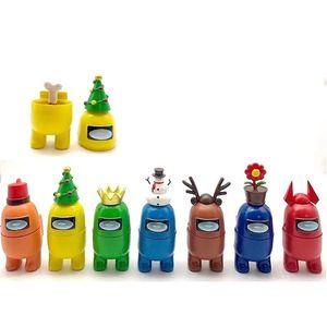 12pcs 그 중 미국 장난감 애니메이션 피겨 미니 만화 모델 게임 늑대 인형 장식품 DIY 장식 캡슐 인형 블라인드 박스 H12204