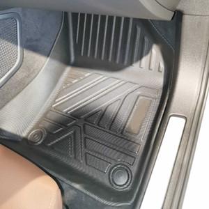 Für Volvo XC60 2018-2021 Auto Car Bodenmatten Allwetter TPE Fußmatten Geruchlose Pad Wasserdichte Tablett Matte Innenzubehör