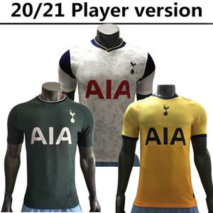 2020 2021 Accueil version joueur de Tottenham maillot de football BALE KANE Hojbjerg Bergwijn LO CELSO éperons 20 21 LUCAS DELE SON maillot de football