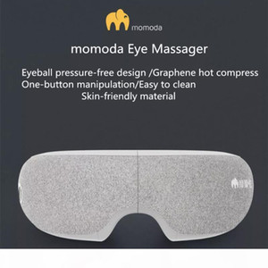 Original Xiaomiyoupin Momoda Eye Electric Massager Graphene Eyes Relax Therapy Hot Compress Headache Stress Relief Machine for Eye 3038026